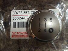 Original Toyota Auris Gear Perilla Cromo PAC Top sólo de 5 velocidades, 2007 2008 2009