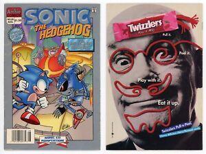 Sonic the Hedgehog #25 FN- 1st Metal Sonic Rare NEWSSTAND 1995 Archie Sega CD