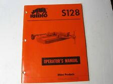 Rhino S128 Mower Operator's Manual - #5378