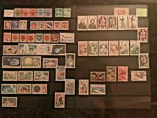 STAMPS FRANCE/FRENCH COLONY REUNION CFA MINT & USED 1920+2pg  # 308