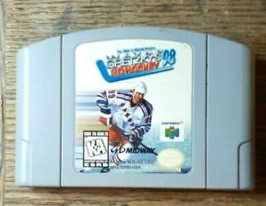 Wayne Gretzky's 3D Hockey (Nintendo 64, 1996) VG Shape  Authentic