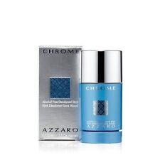 Chrome Deodorant for Men by Azzaro (2.75 oz.) NEW in BOX
