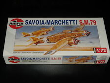 MAQUETTE - SAVOIA-MARCHETTE S.M.79 - AIRFIX - 1/72 - MODEL KIT - - COMPLETE