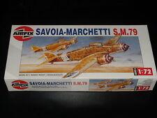 MAQUETA - SAVOIA-WALKER S.M.79 - AIRFIX - 1/72 - MODELO KIT COMPLETO