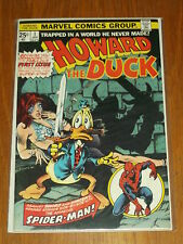 HOWARD THE DUCK #1 MARVEL COMICS FN (6.0) JANUARY 1976*