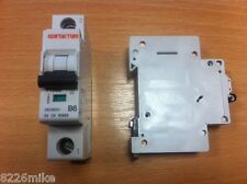 CONTACTUM 6 AMP MCB 7106B TYPE B SINGLE POLE BRAND NEW FREE DELIVERY