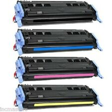 HP 124A Laserjet 1600 2600 2600N 2605DN COMPATIBLE TONER CARTRIDGE SET