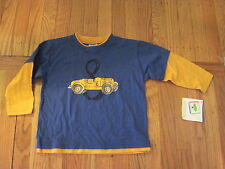 Mulberribush Cool Race Car  Layered Look Shirt - Boy's 2T -  NWT