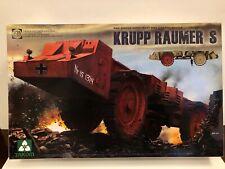 Takom 1:35 WWII Krupp Raumer Super Heavy Mine Clearing Vehicle Model Kit #2053