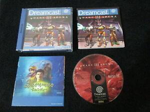 DC : QUAKE III 3 ARENA - Completo ! Dreamcast - CONSEGNA IN 24/48H !