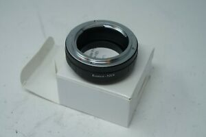 Konica AR Lens to Sony E-Mount A7 A7R A7C NEX-5 NEX-6 NEX-7 Adapter