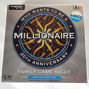 Who Wants To Be A Millionaire 20th Anniversary Edition (Family Game Night, 2018)