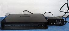 Netgear N600 300 Mbps 4-Port Gigabit Wireless N Router (WNDR3700) & power  B8