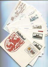 DDR 1985/90 Postkarten P 93-P 106 komplett ungebraucht sehr gut erhalten(B07851)