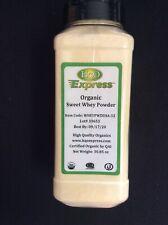 HQO Express Organic Sweet Whey Powder 30.85 oz Jar 09/20 New Factory Sealed T-4
