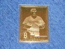 1996-03 DANBURY MINT 22K GOLD CARD LUIS TIANT BOSTON RED SOX (E2)
