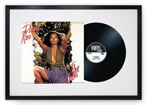 "Oxford Vinyl 12"" LP Record & Album Cover Black Frame Memorabilia Wall Art 25x17"""