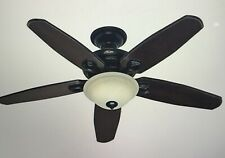 "HUNTER FAIRHAVEN CEILING FAN 52"" model #22550 BASQUE BLACK with REMOTE"