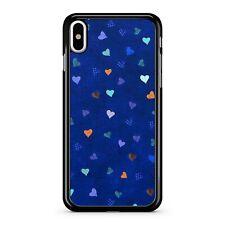 Mini Corazones Amor lleno de patrón cubierto exuberante Cielo Azul Patrón Cubierta Estuche Teléfono