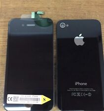 Genuine Quality Replacement Lcd Screen Back Glass For Original iPhone 4s Black