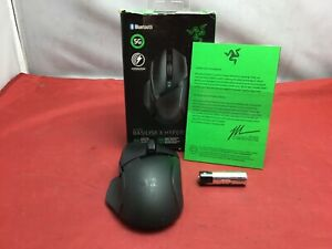 Razer Basilisk X Hyperspeed Bluetooth & Wireless Optical Gaming Mouse Black-USED