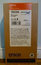 Epson T653A Ink Cartridge for Epson Stylus Pro 4900 - Orange - BNIB