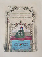 Malerische Ansichten aus dem Orient, Herzog Maximilian in Bayern, Heinr. v. Mayr