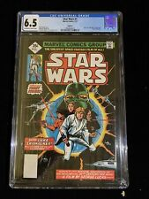 1977 Marvel Comics Star Wars #1, 7/77, Reprint CGC 6.5 OW To White Pages 6013