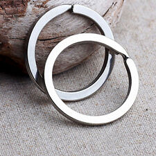 Lot 10Pcs 30mm Metal Key Holder Split Rings Keyring Keychain-Keyfob Accessories