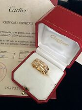 Authentic Cartier Maillon Panthere Diamond 18KT Yellow Gold w/ auth papers
