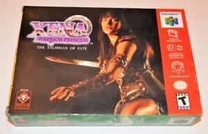 BOX ONLY XENA WARRIOR PRINCESS: THE TALISMAN OF FATE NINTENDO 64 ORIGINAL N64