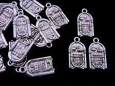 1000 Pcs 8mm Antique Silver Coloured Culottes Calottes Necklace End Tip C64