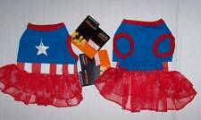 Marvel Captain America Pet Dog Costume Dress Extra Small XS Halloween Superhero