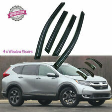 Rain Guards Window Visor Rain Guardss Smoke for Honda CR-V CRV 2017-2018 AU