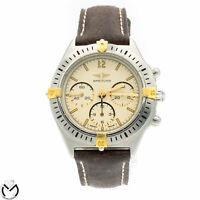 Orologio Cronografo BREITLING Callisto Chrono 80520 Carica manuale acciaio or...