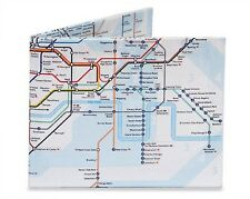 DYNOMIGHTY MIGHTY WALLET LONDON UNDERGROUND SUBWAY DURABLE TYVEK DY-524