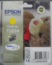 CARTUCCIA EPSON YELLOW T0614 ORIGINALE D68 D88 DX3800 DX4200 DX4800