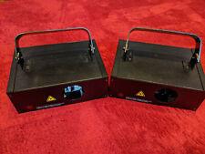 1 x Laserworld EL-200RGY Showlaser, 4 x benutzt, DMX oder Standalone/Sound