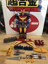 Vintage Clover Sunrise Toys DAITARN 3 Deluxe Set 1984 Taiwan Japan Diecast Robot