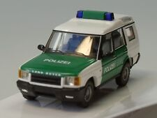 Busch Land Rover Discovery, POLIZEI, grün-weiss - 51911 - 1:87