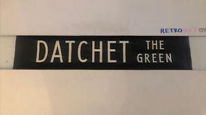 "Datchet The Green - London Linen Bus Destination Blind 7April 2 31"" Gift"
