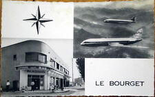 1065 Realphoto Postcard: Le Bourget Aeroport/Airport, Air France Airplane/Bar