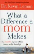 What a Difference a Mom Makes: The Indelible Imprint a Mom Leaves on Her Son's L