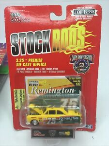 1998 Racing Champions Nascar 50th Stock Rods, Remington #75, '50 Ford Coupe No 1