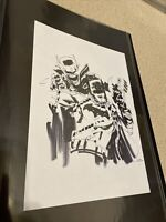 Jock Batman Who Laughs Original Art Prelim #3 Cover Art Sketch Fantastic!