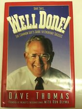Well Done Bien Hecho by Dave Thomas and Ron Beyma (1994 Hardcover) Guide Success