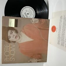 Phoebe Snow- Against The Grain- Columbia Rock PROMO LP- VG+/VG w/insert
