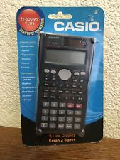 New Casio FX-300MS Scientific 2-Line Display Sealed New
