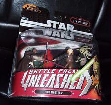 2006 STAR WARS UNLEASHED BATTLE PACKS. JEDI MASTERS.