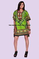 Indien Dashiki Robe Caftan Africain Tribal Poncho Mexicain Hippie Festival Shirt